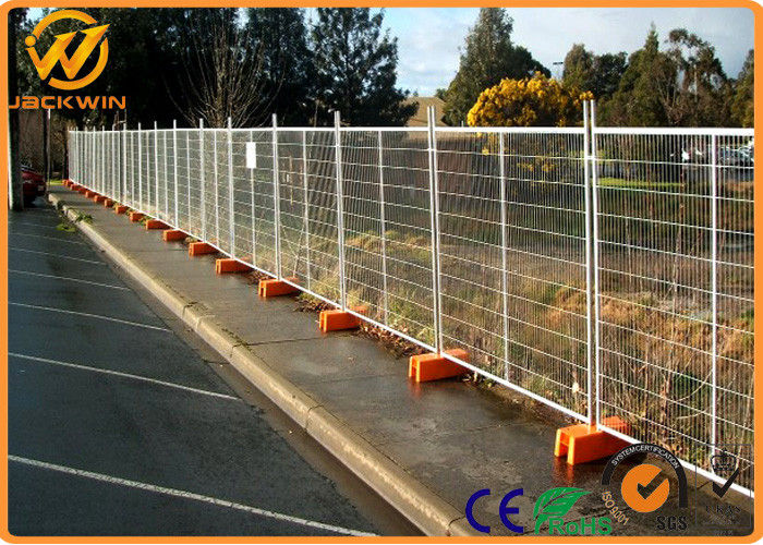 Temporary Galvanized Welded Wire Mesh Fence for Construction Site / Garden